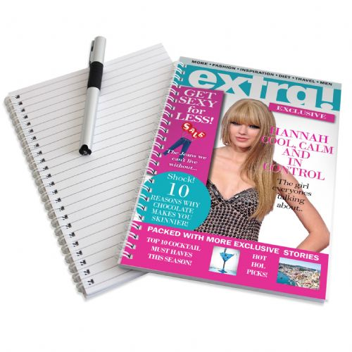 Personalised Extra A5 Notebook